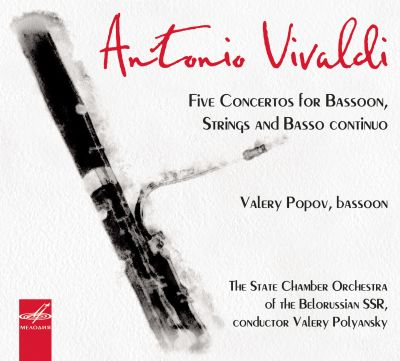 Vivaldi: Five Concertos for Bassoon, Strings and Basso Continuo