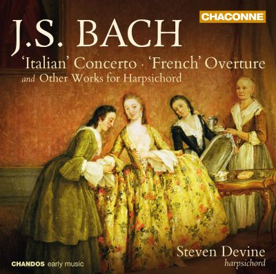 "Bach: ""Italian"" Concerto; ""French"" Overture; Other Works for Harpsichord"