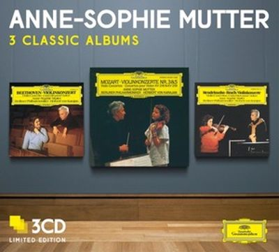 Anne Sophie Mutter: 3 Classic Albums [Limited Edition]