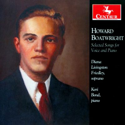 Howard Boatwright: Selected Songs for Voice and Piano