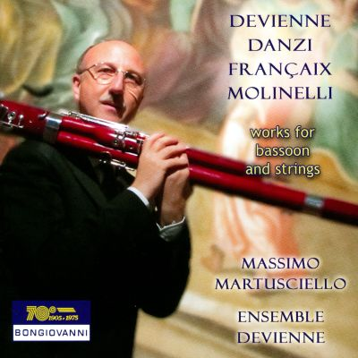 Devienne, Danzi, Françaix, Molinelli: Works for Bassoon and Strings
