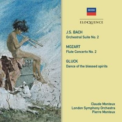 J.S. Bach: Orchestral Suite No. 2; Mozart: Flute Concerto No. 2; Gluch: Dance of the Blessed Spirits