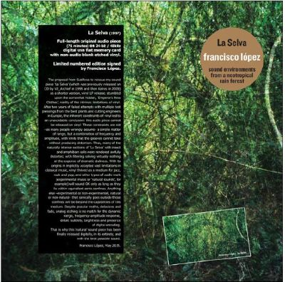 La  Selva: Sound Environments From A Neotropical Rain Forest