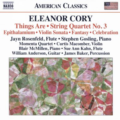 Eleanor Cory: Things Are; String Quartet No. 3