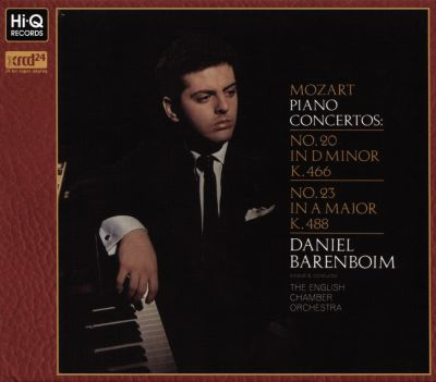 Mozart: Piano Concertos No. 20 in D minor K.466, No. 23 in A major K.488
