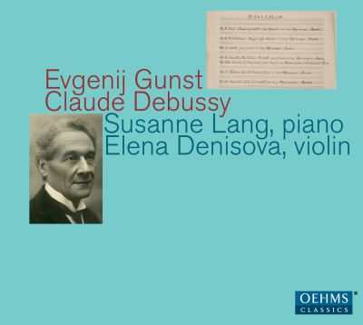 Evgenij Gunst, Claude Debussy