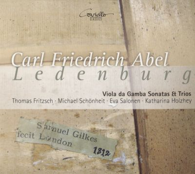 Trio for violin, viola da gamba & cello in C major (Ledenburg MS, attrib.) A5:3A