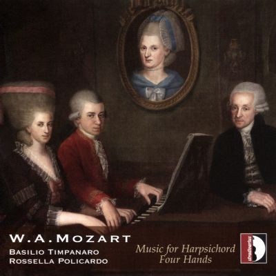 W.A. Mozart: Music for Harpsichord Four Hands