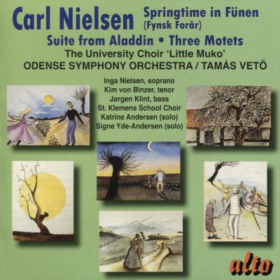 Carl Nielsen: Springtime in Fünen; Suite From Aladdin; Three Motets