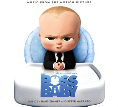 The Boss Baby, film score