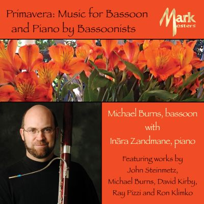 Michael Burns: Music for Bassoon & Piano