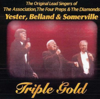 Triple Gold: The Original Lead Singers of the Association, The Four Preps & The Diamonds