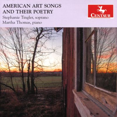 American Art Songs and Their Poetry
