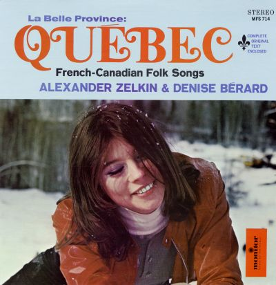 Belle Province Quebec: French-Canadian Folk Songs