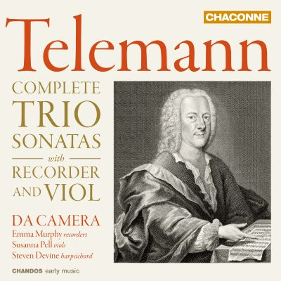 Telemann: Complete Trio Sonatas with Recorder and Viol