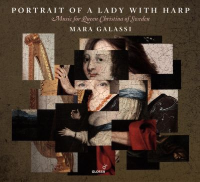 Portrait of a Lady with Harp