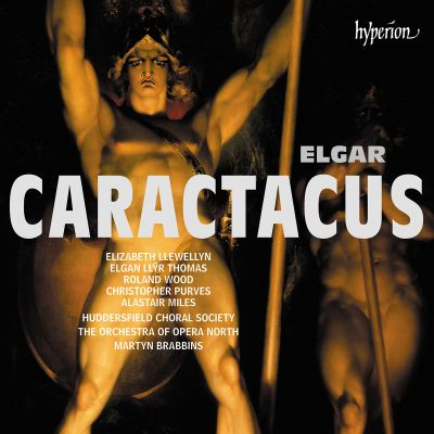 Caractacus, cantata for soloists, chorus & orchestra, Op. 35