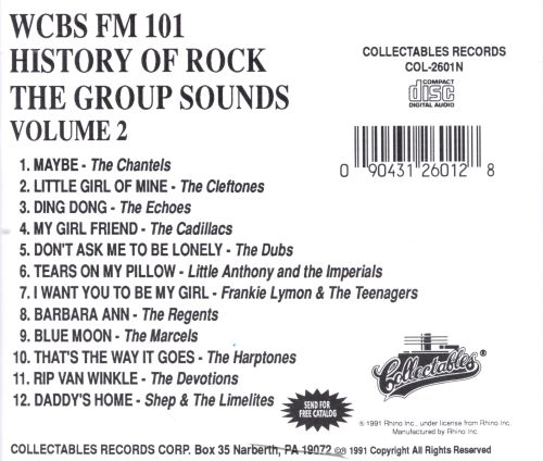 Group Sounds: WCBS New York, Vol. 2