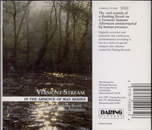 Vermont Stream: In the Absence of Man Series