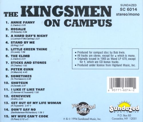 the kingsmen on campus free download