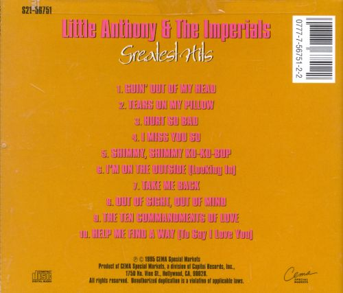 Greatest Hits [EMI-Capitol Special Markets]