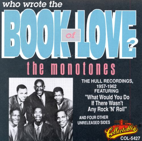 who wrote the book of love the monotones songs reviews