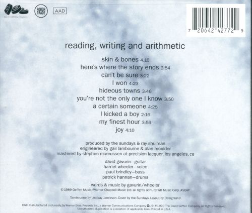 The sundays reading writing and arithmetic mp3 music