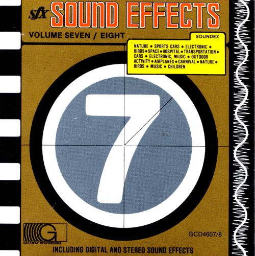 Sound Effects, Vols  7-8 - Various Artists | Songs, Reviews
