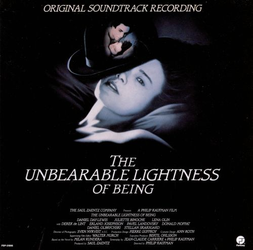 The Unbearable Lightness of Being, Film Score