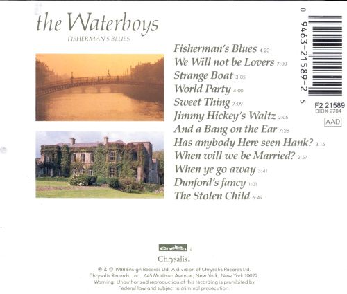Songtext von The Waterboys - Fisherman's Blues Lyrics