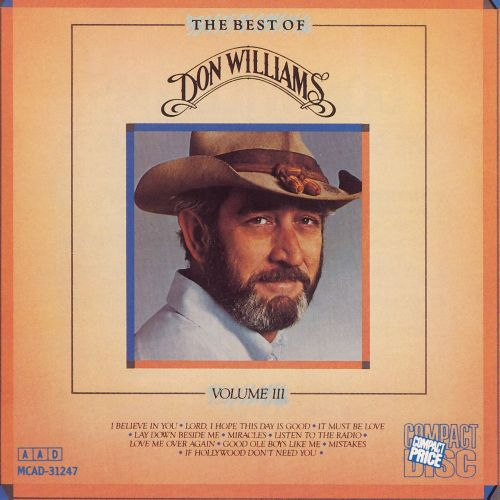 The Best of Don Williams, Vol. 3