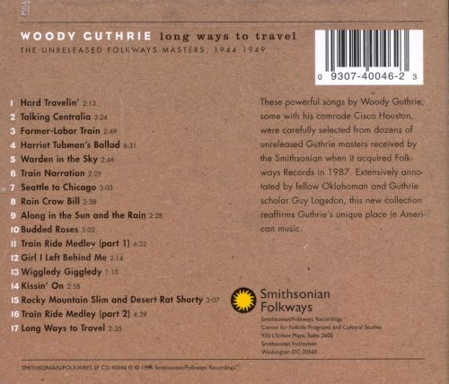 Long Ways to Travel:  The Unreleased Folkways Masters, 1944-1949
