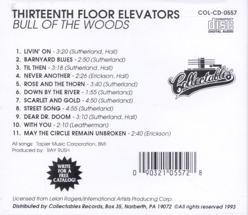 Bull of the woods the 13th floor elevators data for 14th floor elevators
