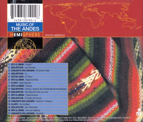 Music of the Andes [Capitol]