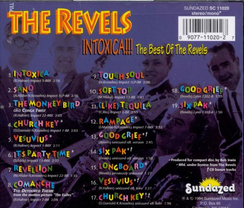 Intoxica!!! The Best of the Revels