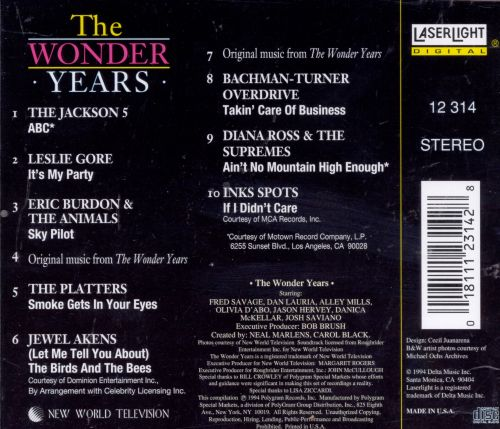 Music from the Wonder Years, Vol. 4