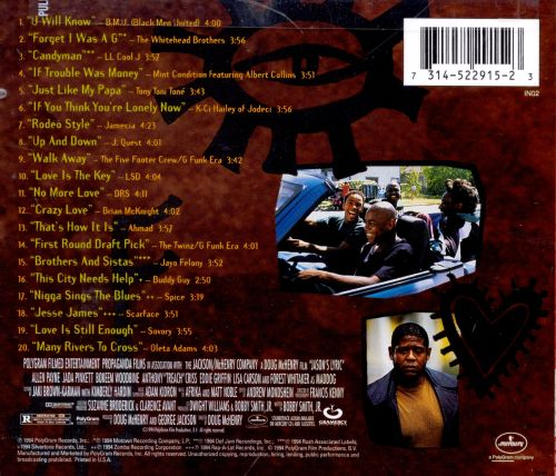 jason s lyric original soundtrack songs reviews credits allmusic