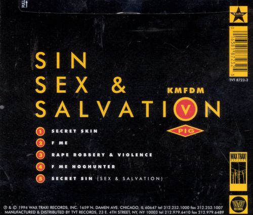 Sin Sex and Salvation