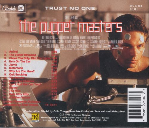The Puppet Masters [Original Motion Picture Soundtrack]