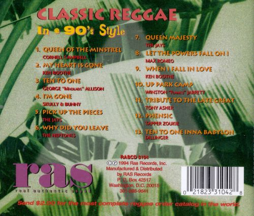Asher Presents Classic Reggae in a '90s Style