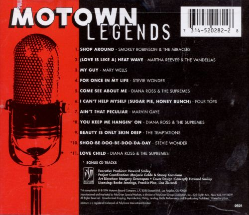 Motown Legends, Vol. 1