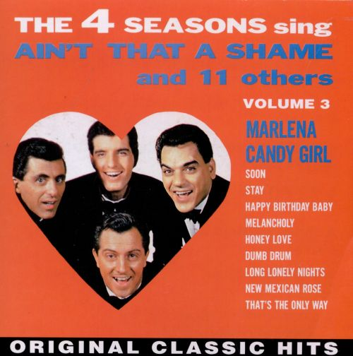 Frankie Valli The Four Seasons Billboard Record: Ain't That A Shame And 11 Other Hits