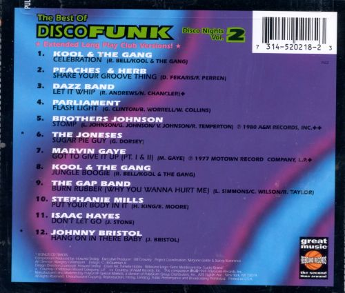 Disco Nights, Vol. 2: The Best of Disco Funk