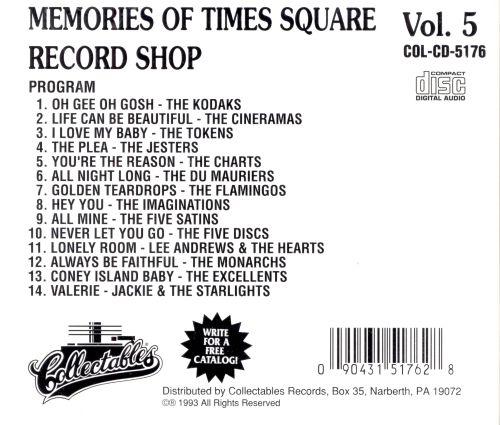 Memories of Times Square Record Shop, Vol. 5