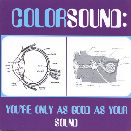 You're Only as Good as Your Sound