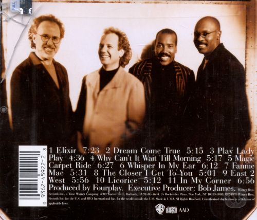 Fourplay - Elixir | Releases, Reviews, Credits | Discogs