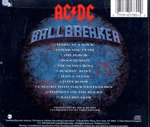 ballbreaker ac dc songs reviews credits allmusic. Black Bedroom Furniture Sets. Home Design Ideas