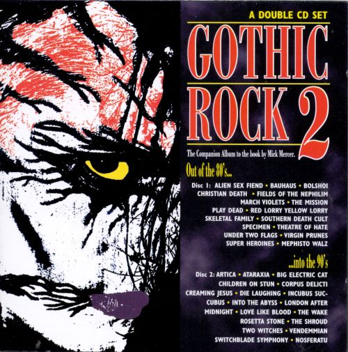 Gothic Rock, Vol. 2: 80's Into 90's [Cleopatra]