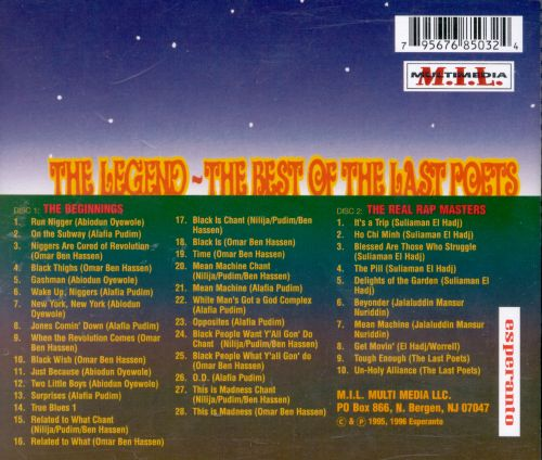 The Legend: The Best of the Last Poets