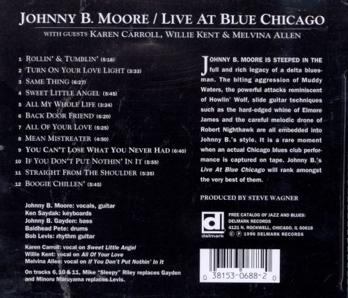 Live at Blue Chicago